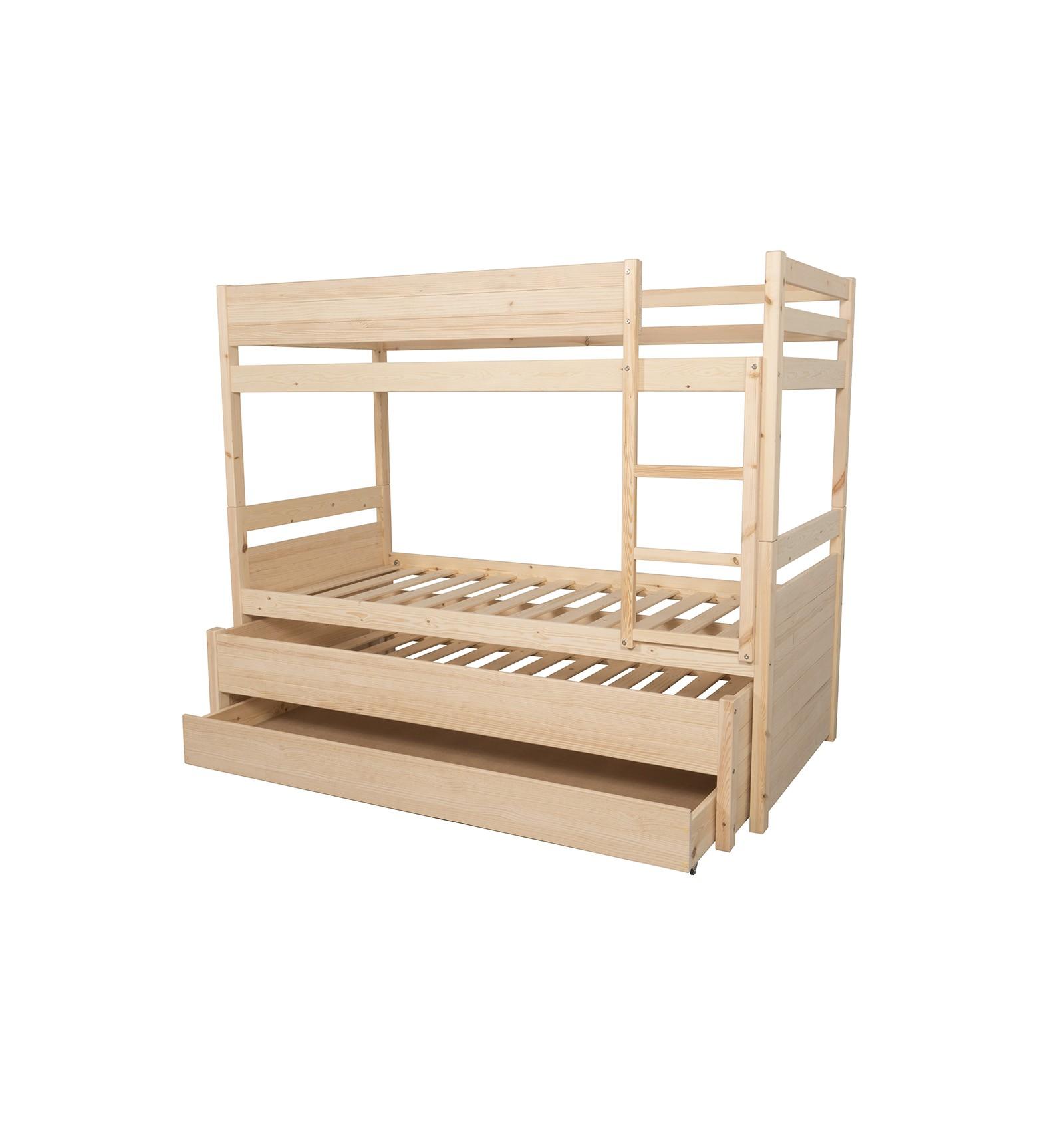 Comprar litera juvenil de madera tricompact for Literas juveniles economicas